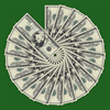 Dollar Bills in a Circle
